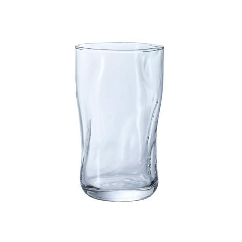 Organic Shaped Fluid Glass Tumbler 16 fl oz