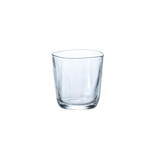 Organic Shaped Fluid Rock Glass 11 fl oz