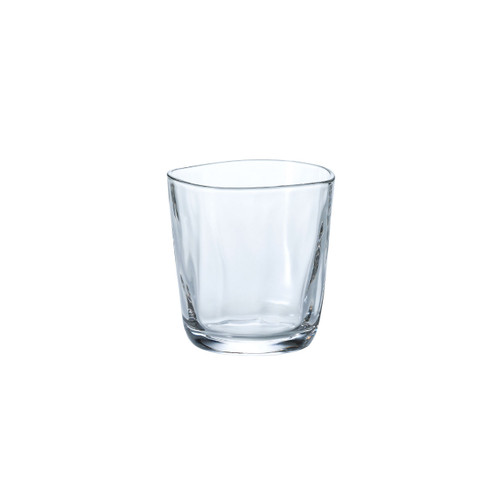 [Clearance] Organic Shaped Fluid Rock Glass 11 fl oz