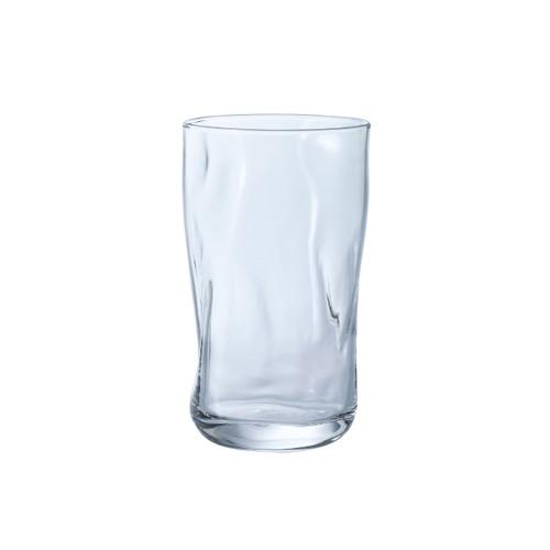 [Clearance] Organic Shaped Fluid Glass Tumbler 12 fl oz