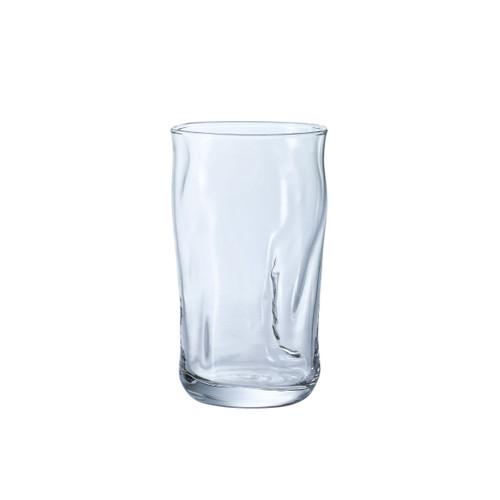 [Clearance] Organic Shaped Fluid Glass Tumbler 10 fl oz