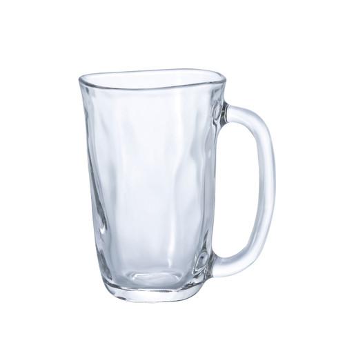 [Clearance] Organic Shaped Glass Beer Mug Cup 13.8 fl oz