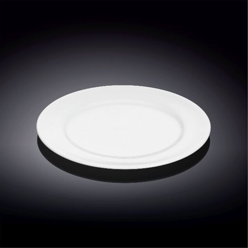 """[Clearance] Wilmax Durable White Bread Plate 6"""" dia"""