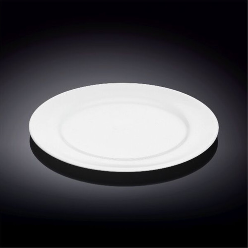 """[Clearance] Wilmax Durable White Bread Plate 8"""" dia"""