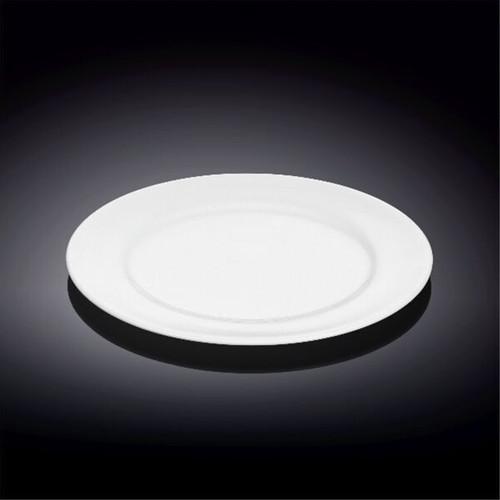 """Wilmax Durable White Bread Plate 6.93"""" dia"""