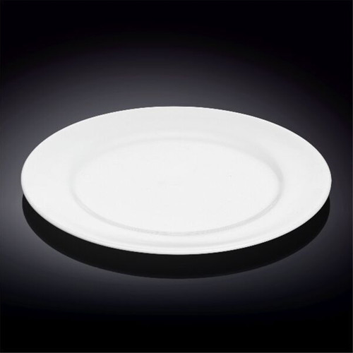 """[Clearance] Wilmax Durable White Dinner Plate 10.91"""" dia"""