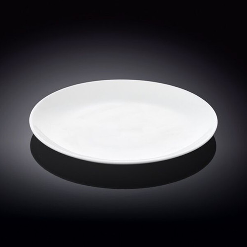 "[Clearance] Wilmax White Dessert Plate 7.99"" dia"