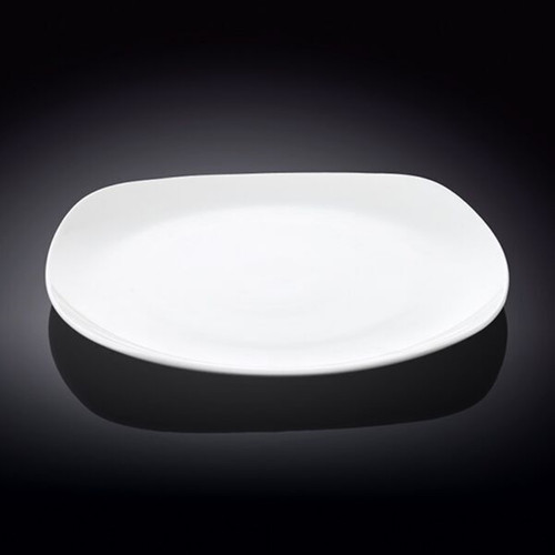 "[Clearance] Wilmax White Square Dinner Plate 9.5"" dia"