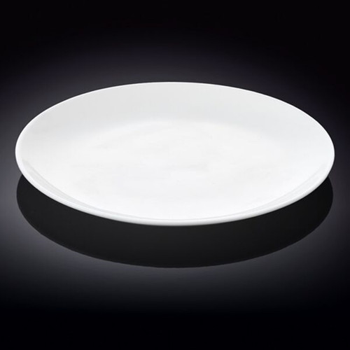 "Wilmax White Dinner Plate 11.93"" dia"