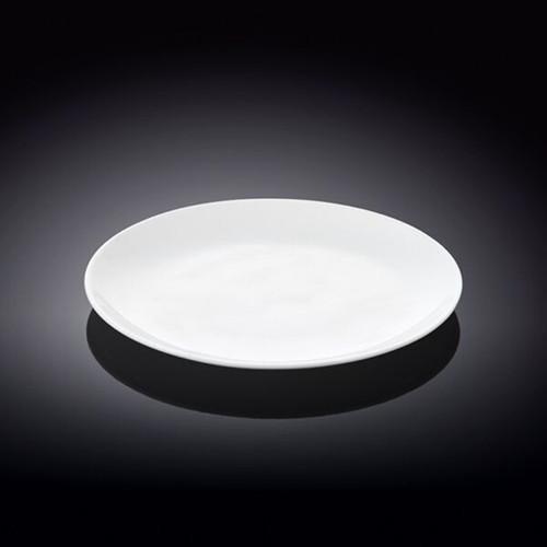 """Wilmax White Bread Plate 6.1"""" dia"""