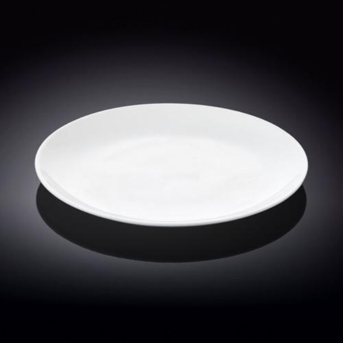 "Wilmax White Dinner Plate 9.02"" dia"