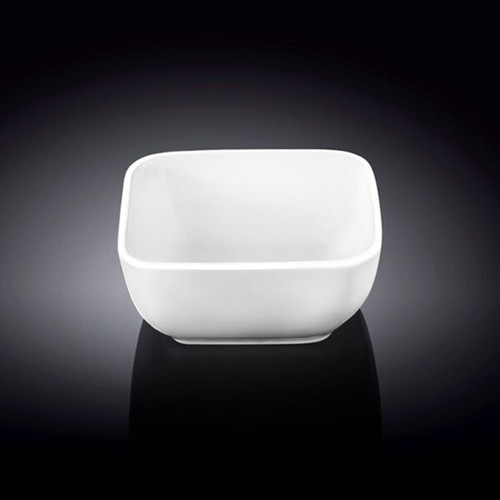 """[Clearance] Wilmax White Square Snack Bowl 3"""" x 3"""""""