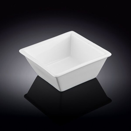 "[Clearance] Wilmax White Square Bowl 4.41"" x 4.41"""