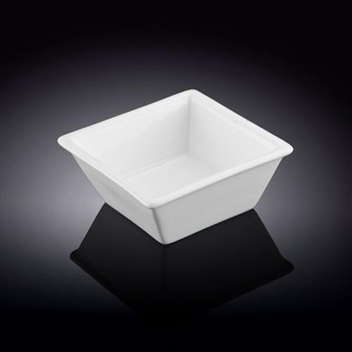 "[Clearance] Wilmax White Square Bowl 3.66"" x 3.66"""