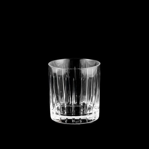 Toyo-Sasaki Hard Strong (HS) Sharp Edged Cut Glass Tumbler 8 fl oz