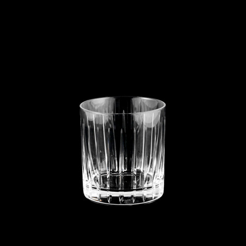 Toyo-Sasaki Hard Strong (HS) Sharp Edged Cut Glass Tumbler 8 fl oz