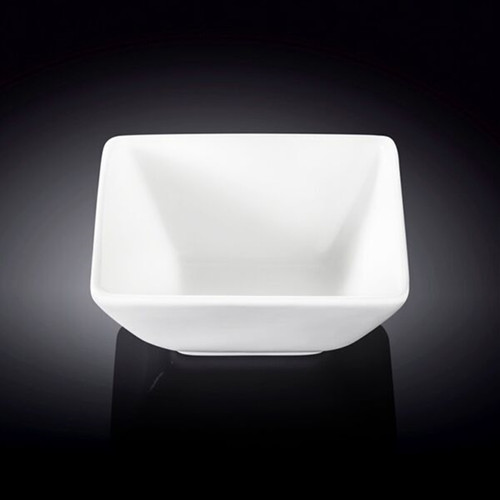 "[Clearance] Wilmax White Square Small Bowl 4.65"" x 4.33"""