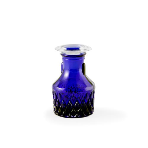Crystal Glass Soy Sauce Dispenser Cobalt Blue 1.5 fl oz