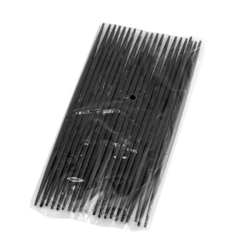 [Clearance] Black PET Reusable Maiko Chopsticks (10 pairs/pack)