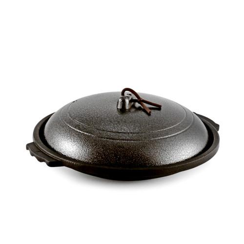 Toban Black Cast Aluminum Grill Pot