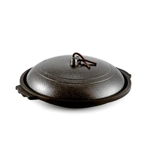 Toban Black Cast Aluminum Grill Pot