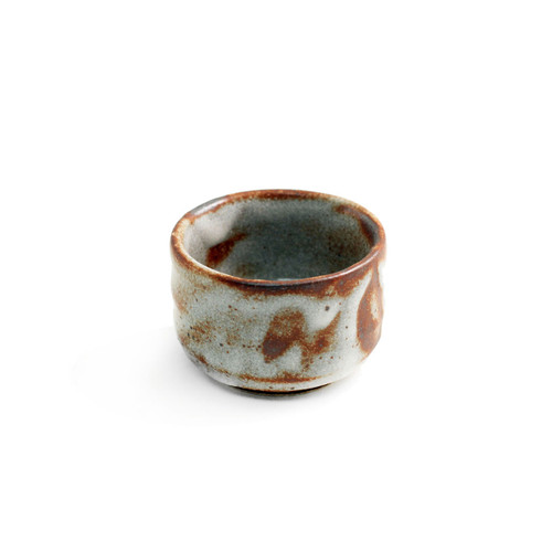 Aka Shino Japanese Sake Cup Guinomi Large 3.4 fl oz
