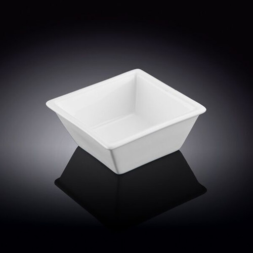 """[Clearance] Wilmax White Square Dip Bowl 2.91"""" x 2.91"""""""
