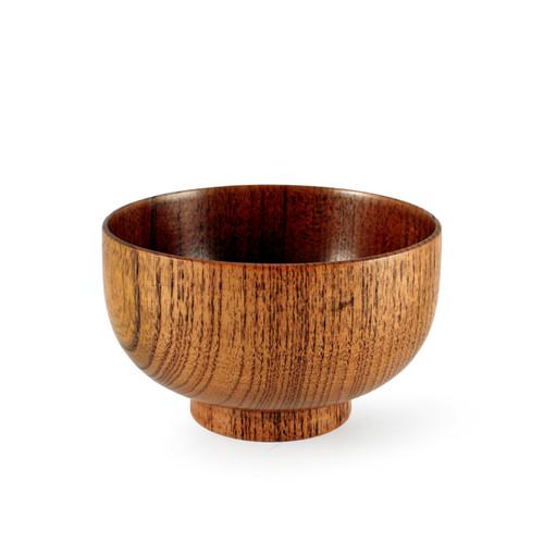 """Wood Pattern Soup Bowl 11 fl oz / 4.45"""" dia"""