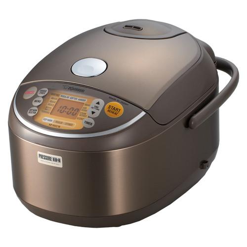 Zojirushi 10 Cup ETL IH Pressure Rice Cooker & Warmer NP-NVC18
