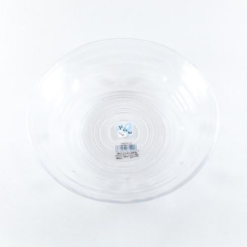 """Toyo-Sasaki Minamo Shallow Glass Bowl 26 fl oz / 8.66"""" dia"""