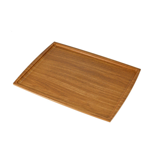 """Non-slip Rectangular Tray with Wooden Pattern 14.17"""" x 10.63"""""""