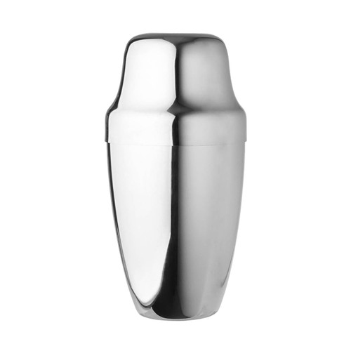 Yukiwa Stainless Steel French Style Cocktail Shaker 500ml (17 oz)