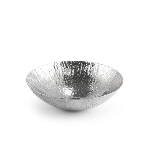 "Textured Stainless Steel Pot 23 fl oz / 6.9"" dia"