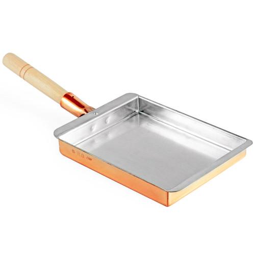 """Copper Tamagoyaki Pan Small 8.75"""" x  7"""""""