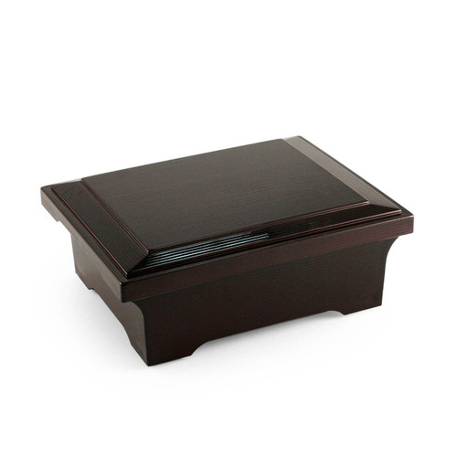 """Double Lacquered Donjyu Box 7.36"""" x 5.59"""""""