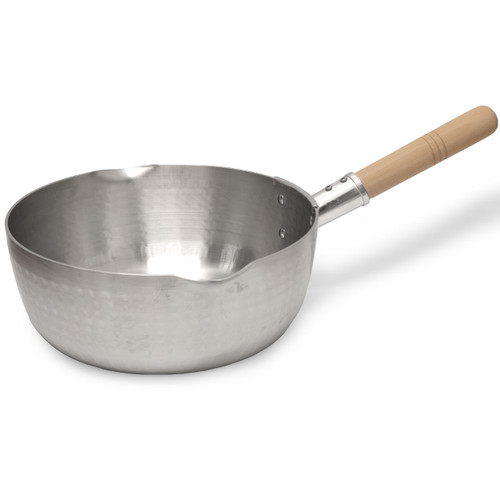 "Yukihira Aluminum Pot with Handle 9.5"" dia / 4-Qt."