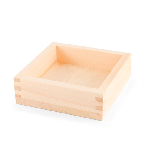 "Square Cypress Tray 5.5"""