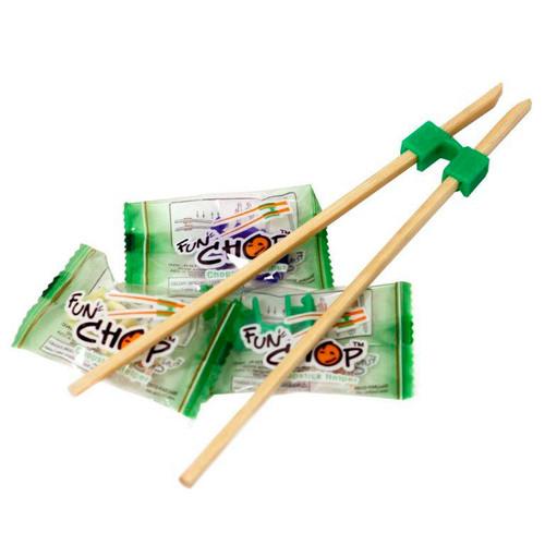 Funchop 5-Color Chopstick Helpers (500/bx)