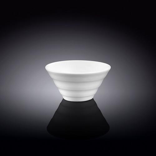 "[Clearance] Wilmax White Ridged Small Bowl 3.9"" dia"