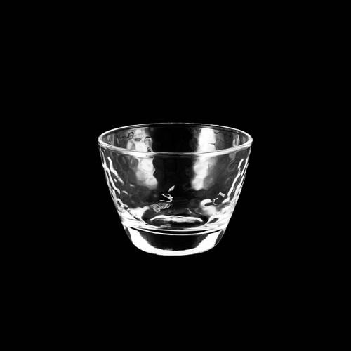 Textured Glass Sake Cup 2.5 fl oz