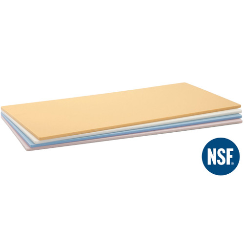 "NSF Soft Rubber Cutting Board 16.1"" x 9.1"" x 0.38"" ht"
