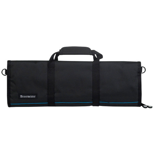 Messermeister Black 12 Pocket Padded Knife Bag