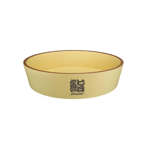 """Hasegawa Antibacterial Plastic Hangiri Rice Barrel 23.5"""" dia"""