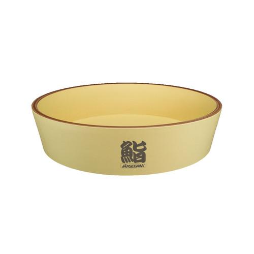 """Hasegawa Antibacterial Plastic Hangiri Rice Barrel 28.3"""" dia"""