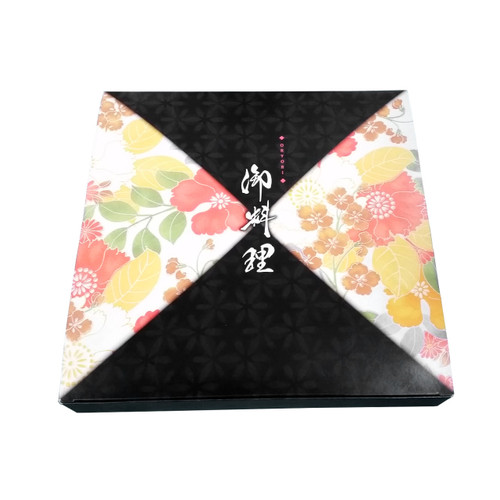 "Tsubaki Square Take Out Paper Bento Box 9.5"" x 9.25"" (50/pack) (*inside tray sold separately)"