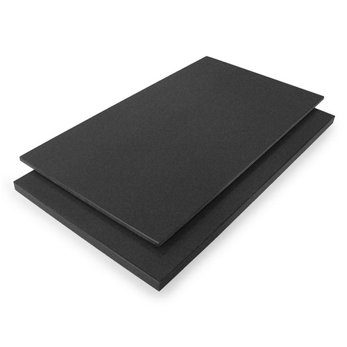 "20% off with code Brightup20 - Tenryo Black Grainy High Contrast Cutting Board 27.5"" x 13"" x 0.75"""
