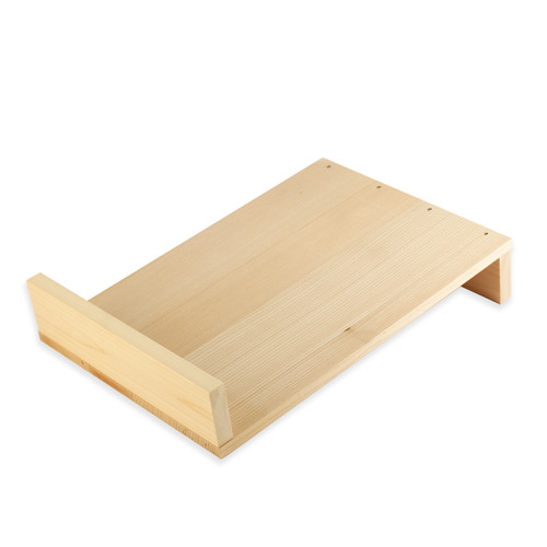 "Sushi Board (Nuki-Ita) Sawara Cypress 14.25"" x 9.5"""