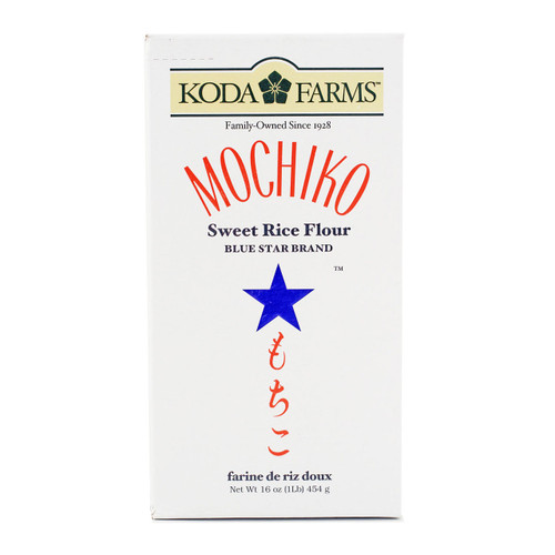 Blue Star Brand Mochiko Sweet Rice Flour 16 oz / 454 g (1LB)