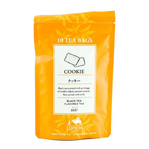 Lupicia Black Tea Cookie Flavored 10 Tea Bags