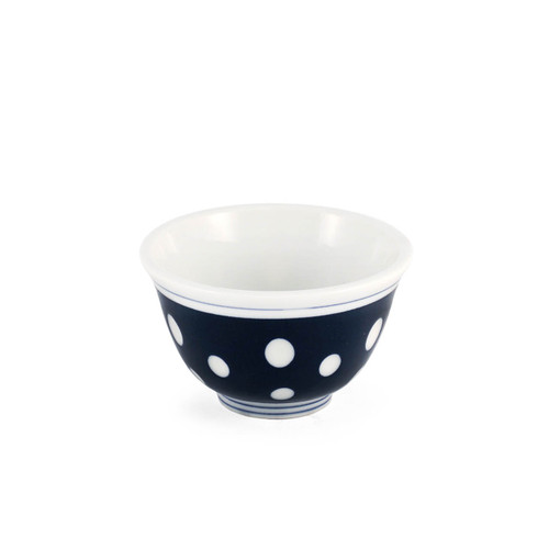 "Polka Dot Tea Cup 5 fl oz / 3.62"" dia"